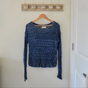 Blue Hollister Sweater